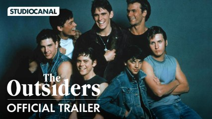 THE OUTSIDERS THE COMPLETE NOVEL - Starring C. Thomas Howell, Patrick Swayze, Tom Cruise, Matt Dillon and Ralph Macchio