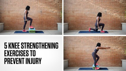 5 Knee Strengthening Exercises to Prevent Injury