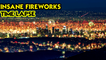 'BREATHTAKING VISUAL of the 4th of July Fireworks Lighting Up the LA Skies '