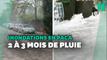 Inondations dans le Var: l'équivalent de 2 à 3 mois de pluie tombé en quelques heures