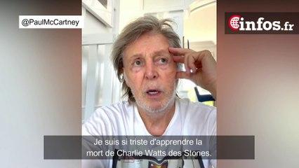 Charlie Watts est mort, le message vidéo émouvant de Paul McCartney