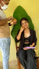Actress esther anil new hot photoshoot video