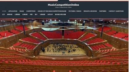 MusicCompetitionOnline - WANG Qinyao, Harp. Barcarolle