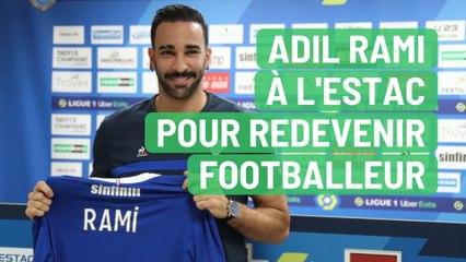 Adil Rami à l'Estac pour redevenir footballeur