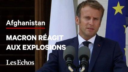 Afghanistan : « La situation s'est profondément dégradée », déclare Emmanuel Macron