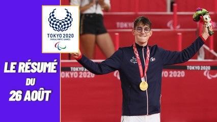 Jeux Paralympiques 2021 : Le résumé du 26 août