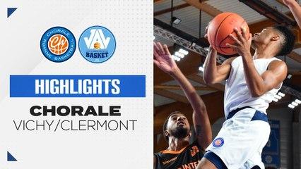 2021/22 Highlights Chorale - Vichy/Clermont (88-71, Prépa)