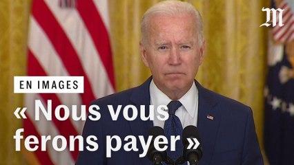 « Nous vous pourchasserons », dit Joe Biden après les attentats près de l'aéroport de Kaboul