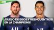 Messi y Cristiano Ronaldo podrían enfrentarse nuevamente en la Champions