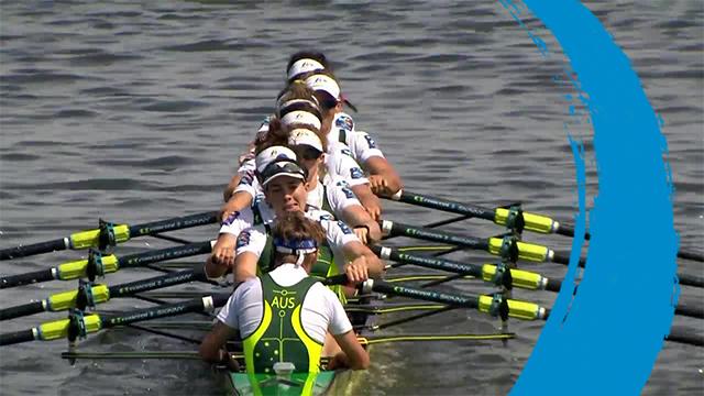 2019 World Rowing Cup II – Poznan, POL – Women's Eight (W8+) – Final