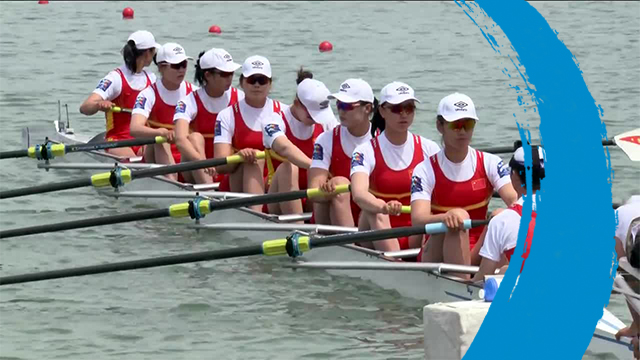 2019 World Rowing Cup 1 – Plovdiv (BUL) – Women's Eight (W8+) – Final A