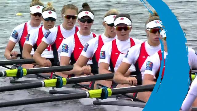 2019 World Rowing Cup 3 – Rotterdam, Netherlands – Women's Eight (W8+) – Final A