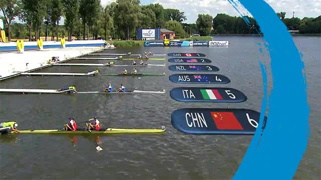 2019 World Rowing Cup II – Poznan, POL – Women's Pair (W2-) – Final