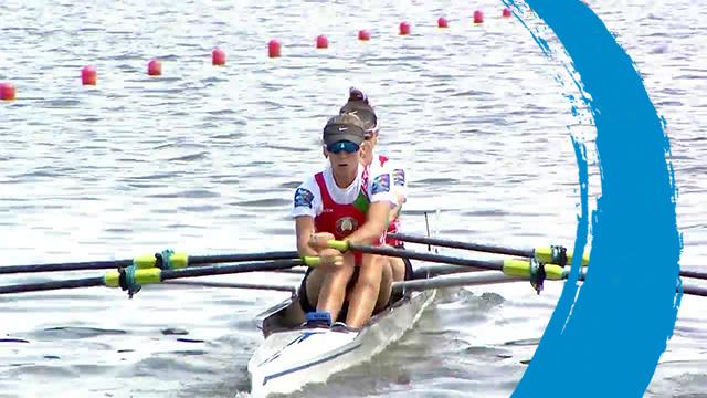 2019 World Rowing Cup II – Poznan, POL – Lightweight Women's Double Sculls (LW2x) – Final