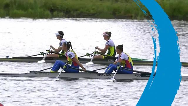 2019 World Rowing Cup 3 – Rotterdam, Netherlands – Women's Double Sculls (W2x) – Final A