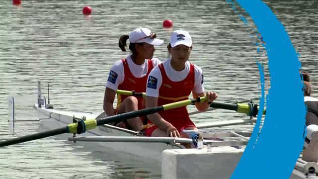 2019 World Rowing Cup 1 – Plovdiv (BUL) – Women's Pair (W2-) – Final A