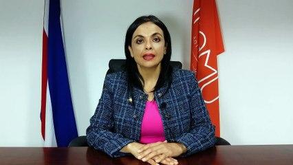 Marcela Guerrero, presidenta del Inamu, sobre campaña para promover denuncias por acoso callejero