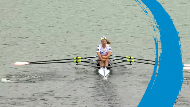 2019 World Rowing Cup 3 – Rotterdam, Netherlands – Women's Double Sculls (W2x) – Repechage