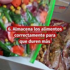 Cómo puedes reducir el desperdicio de alimentos en tu cocina