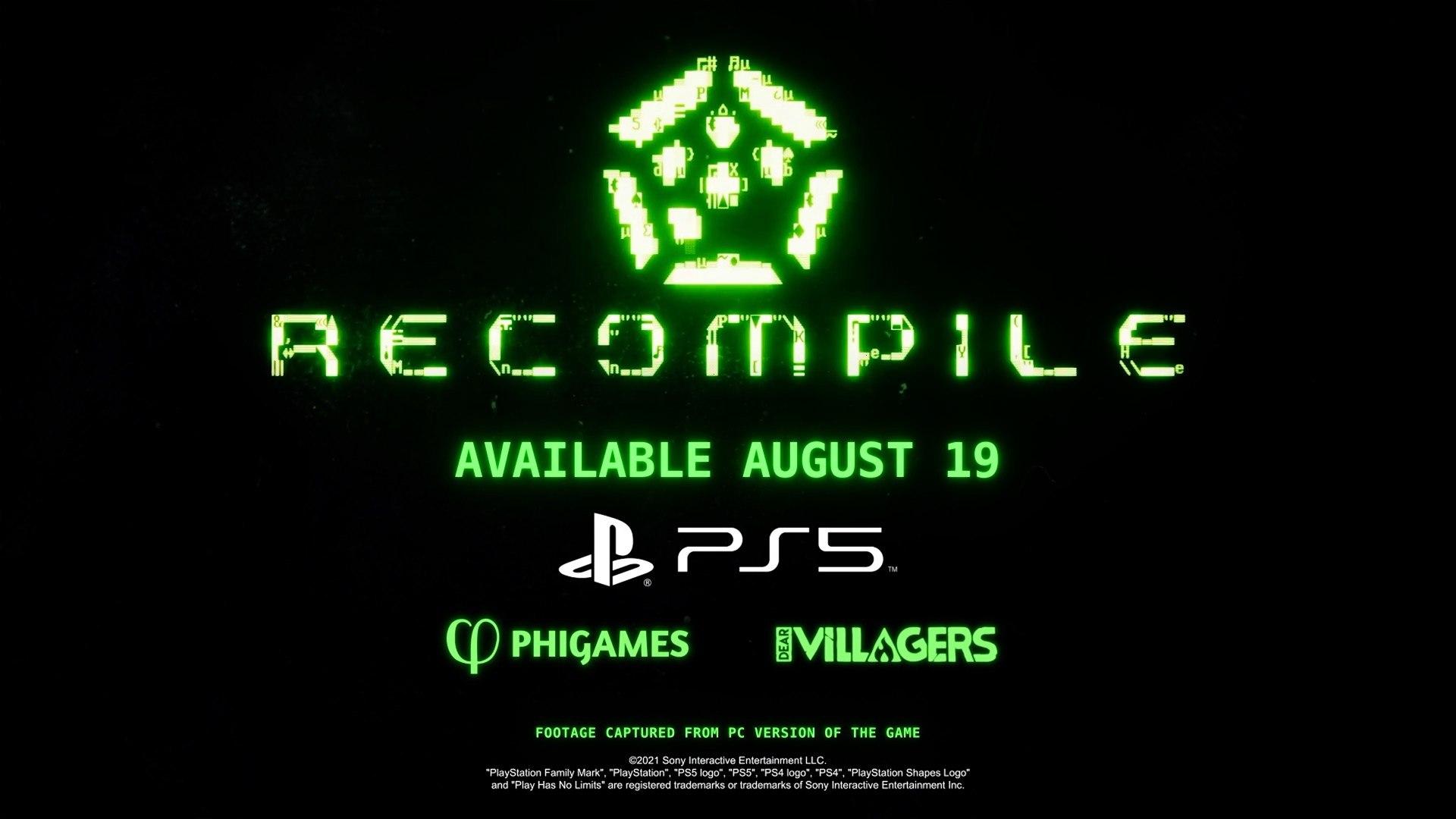 Recompile - Hacks Featurette PS5