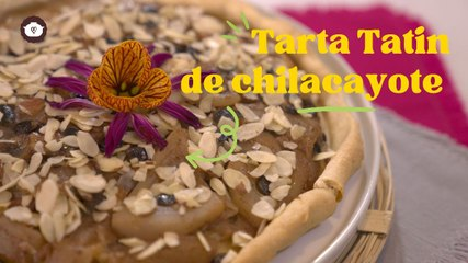 Tarta Tatin de chilacayote - Postres fáciles