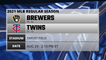 Brewers @ Twins Game Preview for AUG 29 -  2:10 PM ET