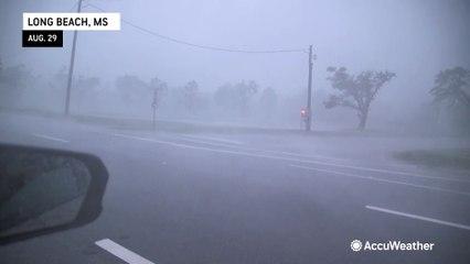 Waves, wind and rain; Hurricane Ida hits the US