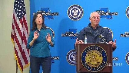 LIVE - Louisiana governor holds news briefing on Hurricane Ida