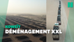 """Au Koweït, le plus grand """"cimetière de pneus"""" du monde déplacé"""