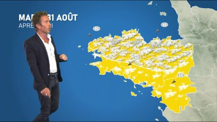 Bulletin météo pour le mardi 31 août 2021