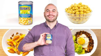 Pro Chef Turns Canned Chickpeas Into 4 Meals For Under $8