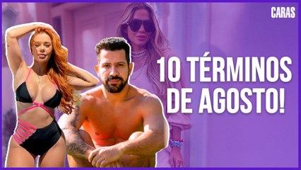JADE PICON E JOÃO GUILHERME, WHINDERSSON E MARIA LINA: 10 CASAIS QUE SE SEPARARAM EM AGOSTO!