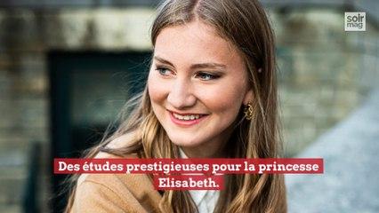 Des études prestigieuses pour la princesse Elisabeth