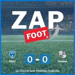 Le résumé du match Niort Amiens
