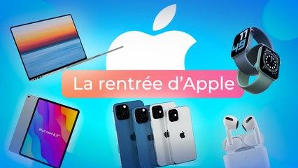 iPhone 13, AirPods 3, Macbook M1X, iPad Mini : la RENTRÉE d'Apple va être MOUVEMENTÉE !