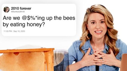 Beekeeper Answers Bee Questions From Twitter
