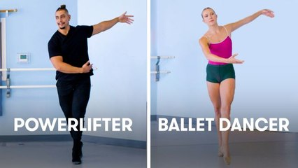 Powerlifters Try to Keep Up With Ballet Dancers