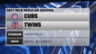 Cubs @ Twins Game Preview for SEP 01 -  8:10 PM ET
