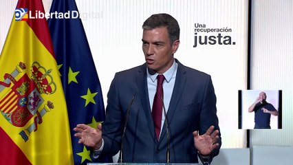 """Sánchez afirma que """"actuará"""" por el alto precio de la luz pero dentro de UE"""