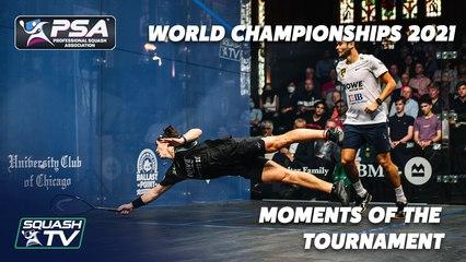 Squash: PSA World Championships 2020-2021 - Moments of the Tournament