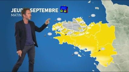Bulletin météo pour le jeudi 2 septembre