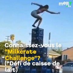 C'est quoi le Milkcrate Challenge, le défi dangereux et idiot venu des USA ?