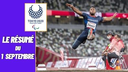 Jeux Paralympiques 2021 : Le résumé du 01 septembre