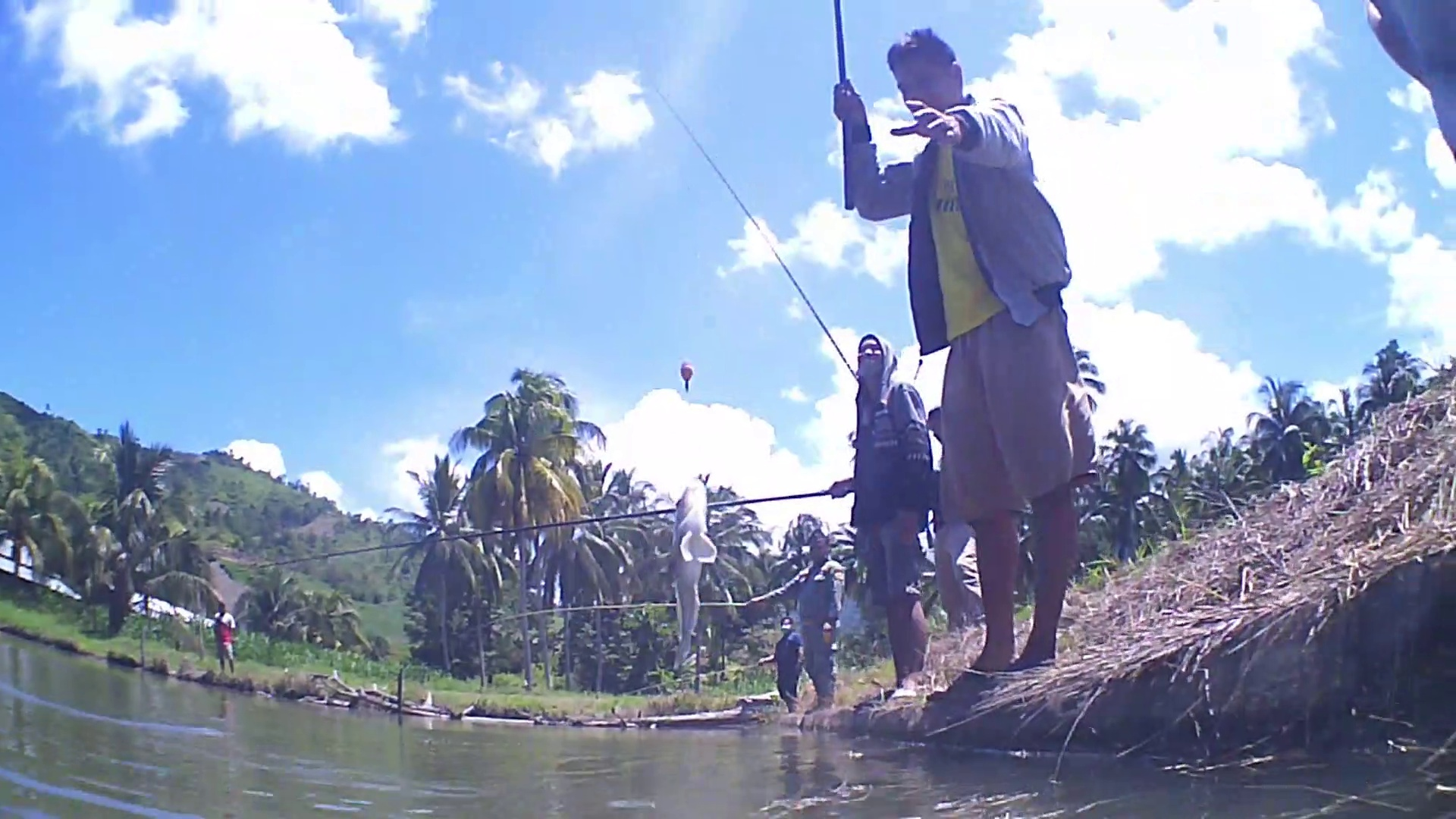 Fishing in a murky pond can get big and many fish | Mancing Mania