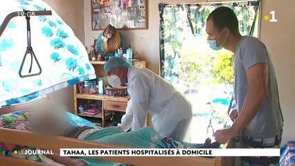Taha'a, les patients hospitalisés à domicile