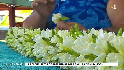 Frida et Vaihere, fleuristes submergées