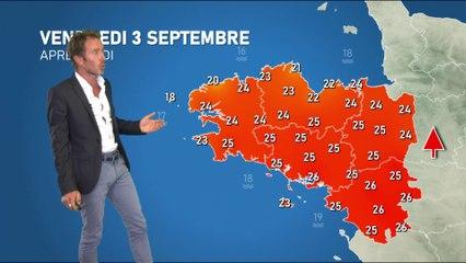 Bulletin météo pour le vendredi 3 septembre