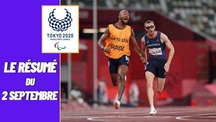 Jeux Paralympiques 2021 : Le résumé de la journée du 02 septembre