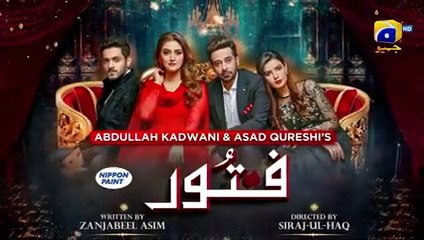 Fitoor EP 47 - English Subtitle - 4th September 2021 - HAR PAL GEO