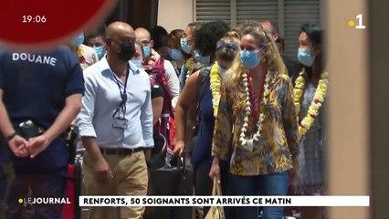 84 renforts sont arrivés à Tahiti